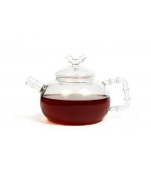 "Чайник ""Бамбук"" 500 мл. из жаропрочного стекла"