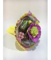 Чайный букет со сладостями «ГАРМОНИЯ»