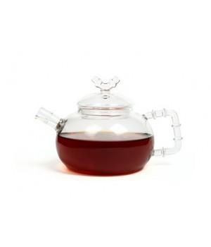 "Чайник ""Бамбук"" из жаропрочного стекла 500 мл"