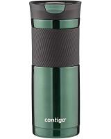 Термокружка CONTIGO 591 мл. (цвет Зеленый изумруд)
