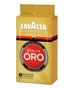 Lavazza Qualita Oro молотый вакуумная упаковка (250 гр)