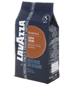 Кофе Lavazza Super Crema зерно (1 кг)