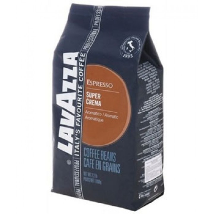 Кофе Lavazza Super Crema зерно (1 кг)
