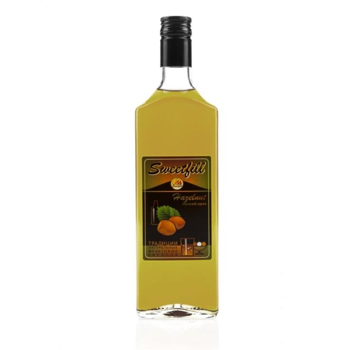 """Сироп Sweetfill """"Лесной Орех"""" 0,5 л"""