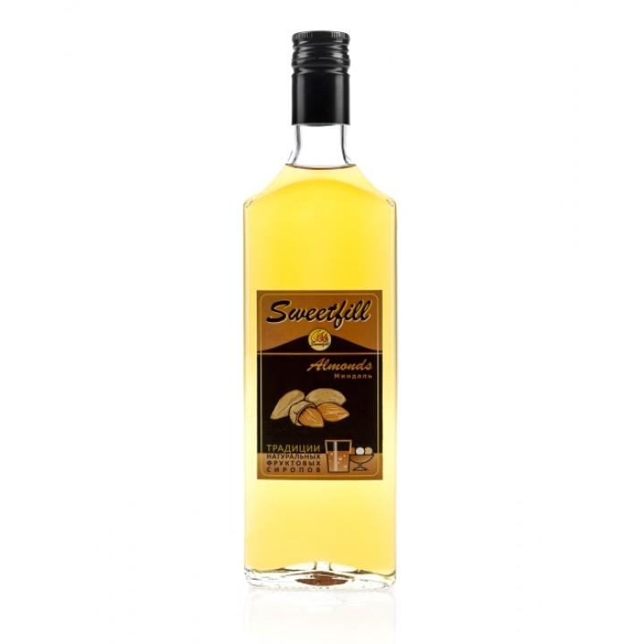 Сироп Миндаль Sweetfill 0,5 л.