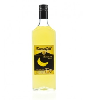 Сироп Банан Sweetfill 0,5 л.