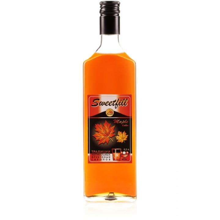 Сироп Кленовый Sweetfill 0,5 л.