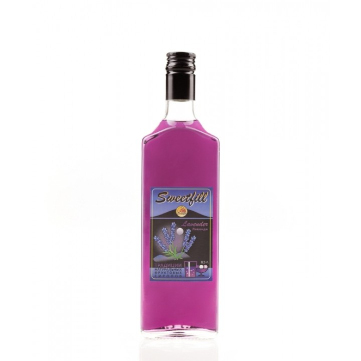 Сироп Лаванда Sweetfill  0,5 л.
