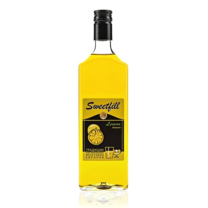 Сироп Лимон Sweetfill 0,5 л.