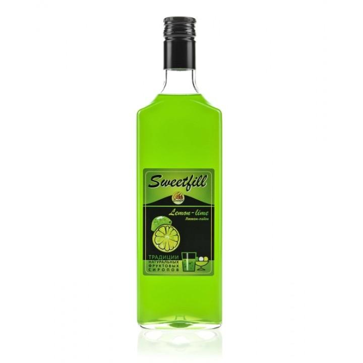 Сироп Лимон-Лайм Sweetfill 0,5 л.