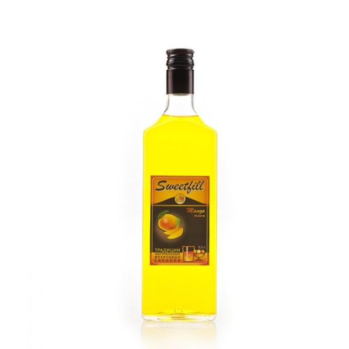 Сироп Манго Sweetfill 0,5 л.