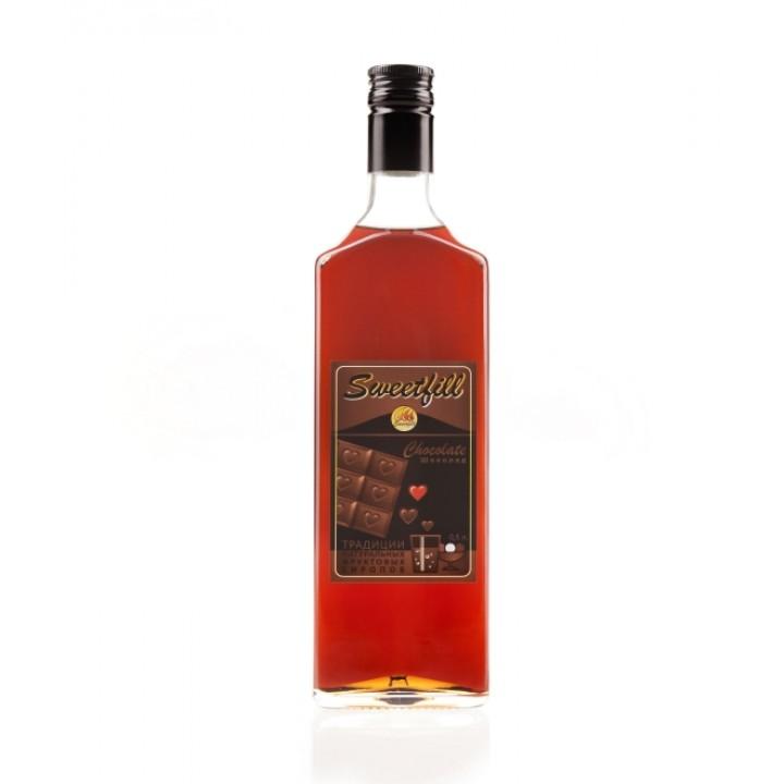 Сироп Шоколад Sweetfill 0,5 л.