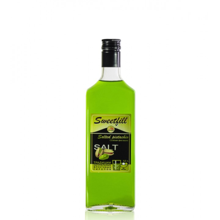 Сироп Солёная Фисташка Sweetfill 0,5 л.