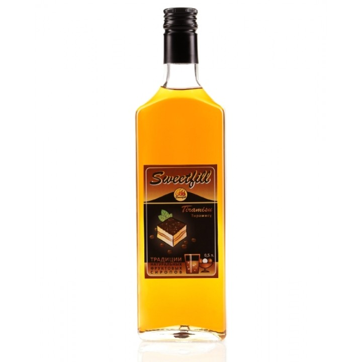 Сироп Тирамису Sweetfill 0,5 л.