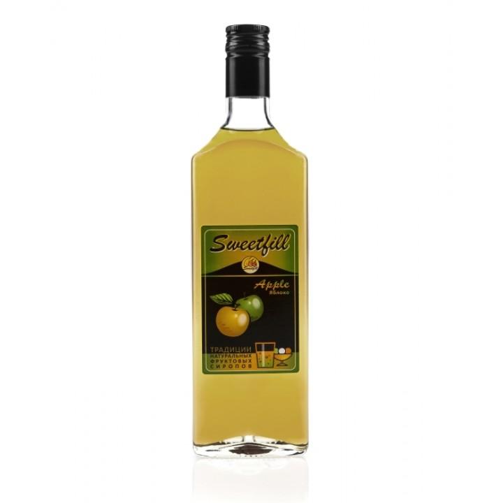 Сироп Яблоко Sweetfill 0,5 л.