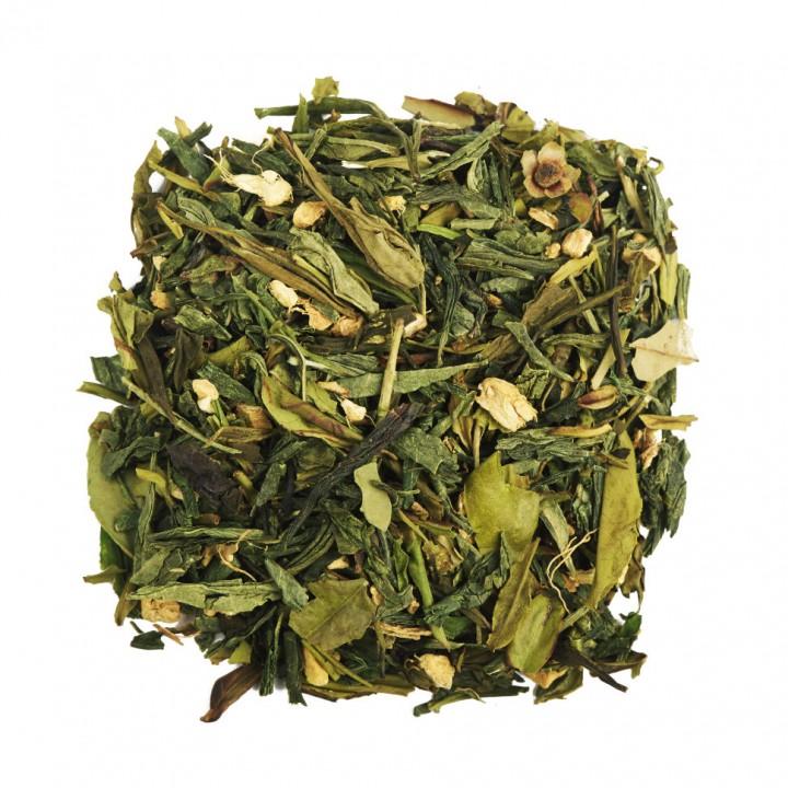 Чай Зеленый с Имбирем 100 гр. зеленый ароматизированный
