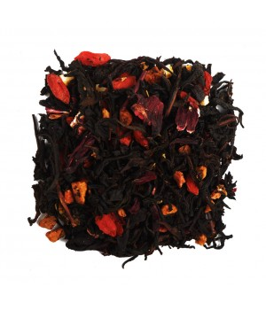 Чай Апельсин и Годжи 100 гр. черный ароматизированный
