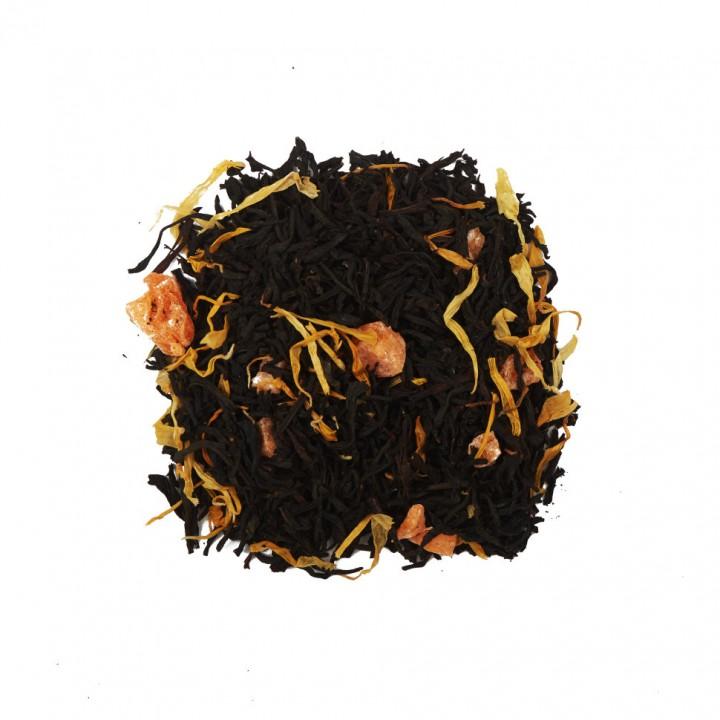 Чай Душистый Персик 100 гр. черный ароматизированный