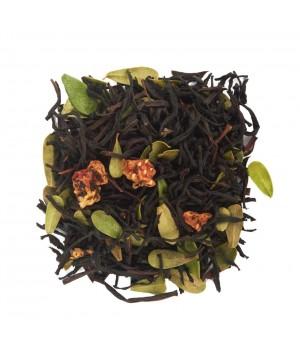 Чай Клубника – Сливки 100 гр. черный ароматизированный