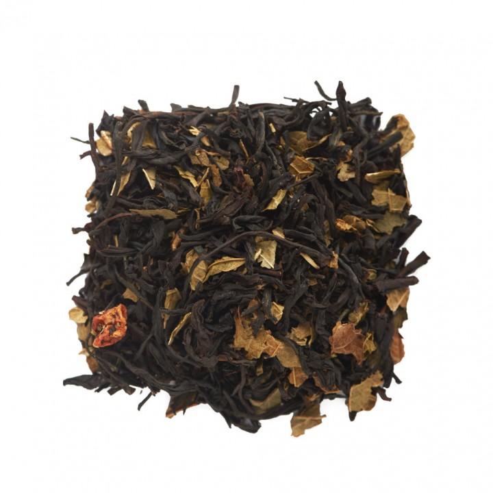Чай Земляника со сливками 100 гр. черный ароматизированный