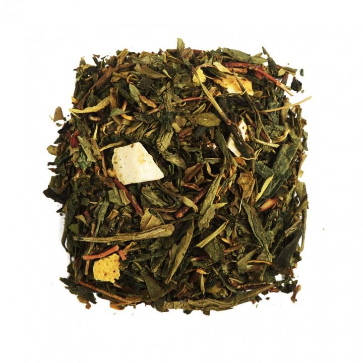 Чай Лимонник 100 гр. зеленый ароматизированный