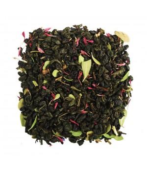 Чай Клубника со Сливками 100 гр. зеленый ароматизированный