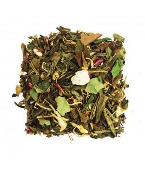Чай Восемь Сокровищ Шаолиня 100 гр. зеленый ароматизированный